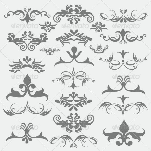 GraphicRiver Vintage Design Elements 89 6228520