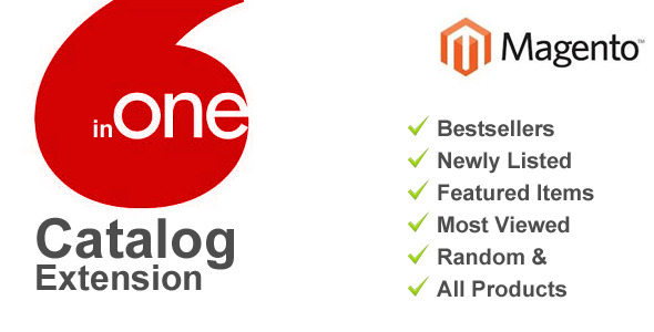 CodeCanyon Magento 6 in One Catalog 6229069