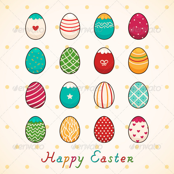 GraphicRiver Easter Eggs 6230057