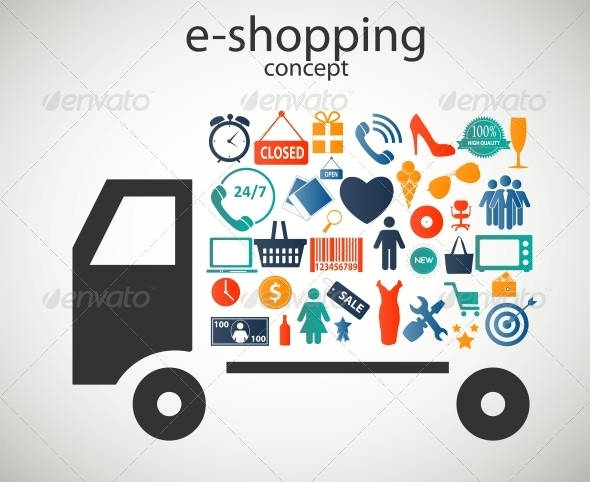 GraphicRiver E-Shopping Concept 6230058