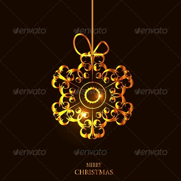GraphicRiver Christmas Snowflakes Background 6230083