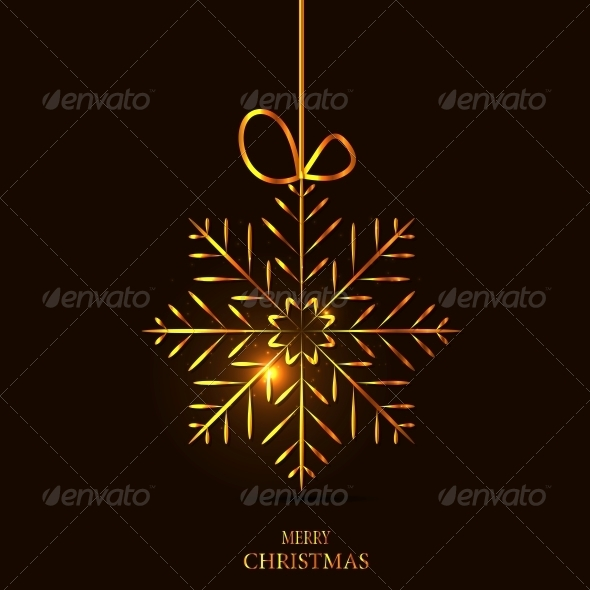 GraphicRiver Christmas Snowflake Background 6230085