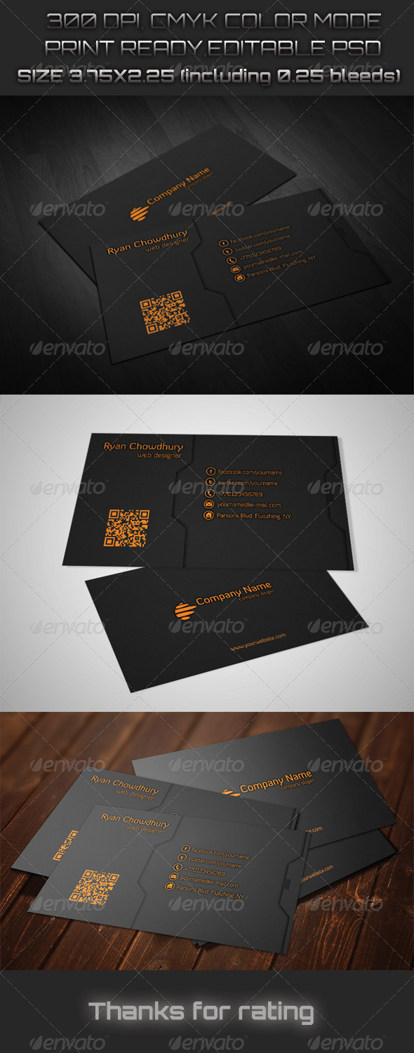 GraphicRiver Creative Business Card 6192611