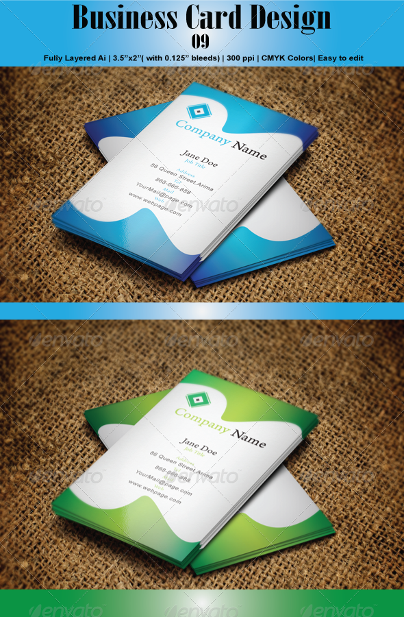 GraphicRiver Business Card 09 6230398