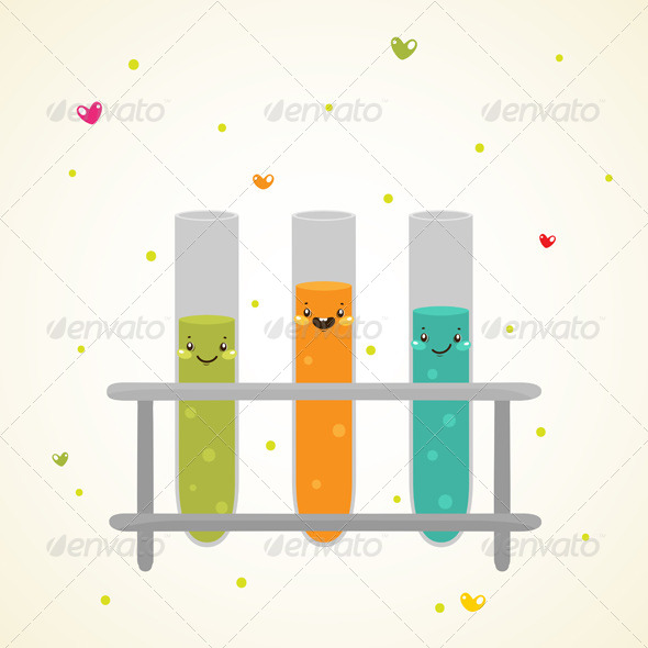 GraphicRiver Laboratory Glass Test Tubes 6230829