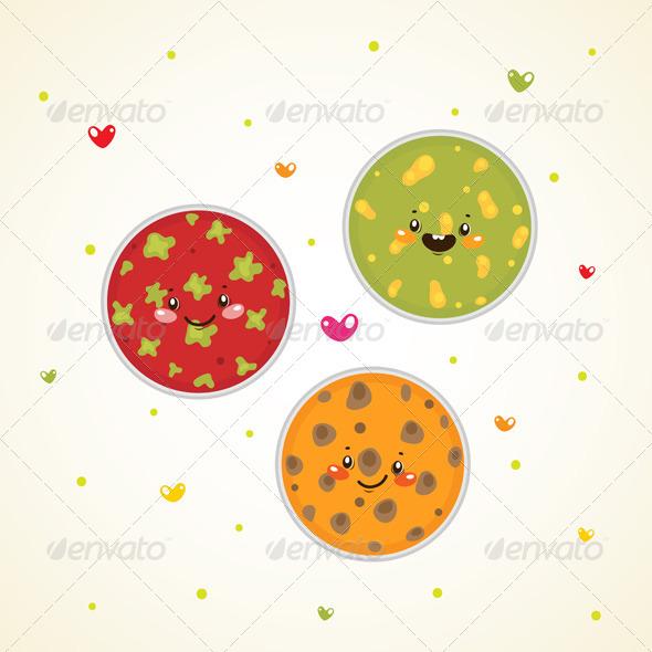 GraphicRiver Bacteria in Petri Dishes 6230848