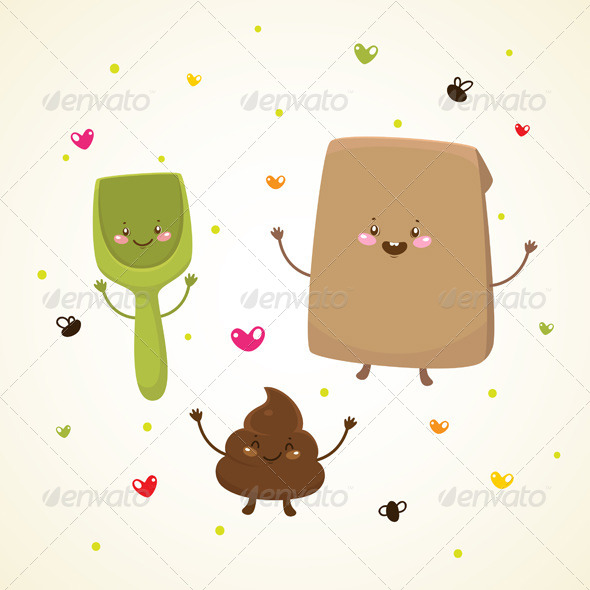 GraphicRiver Turd and Friends 6230896