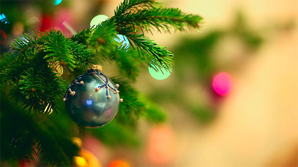 [VideoHive 651315] Christmas background | Stock Footage
