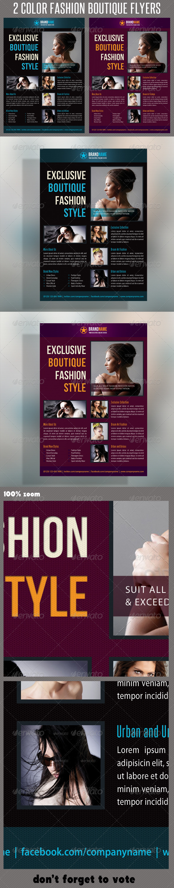 GraphicRiver Fashion Product Flyer 18 6230978
