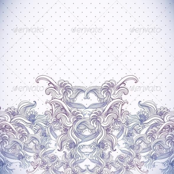 GraphicRiver Vintage Background Baroque Pattern 6231652