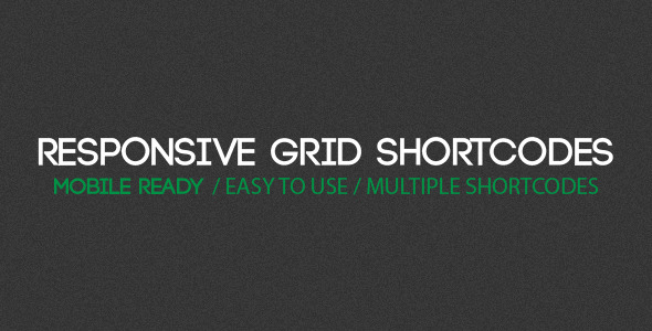 CodeCanyon Responsive Grid Shortcodes for WordPress 6204356