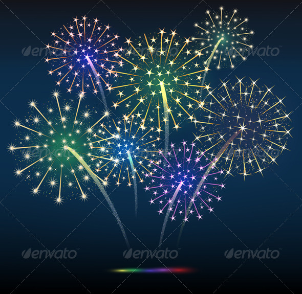 GraphicRiver Salutes Festive Explosions 6232685