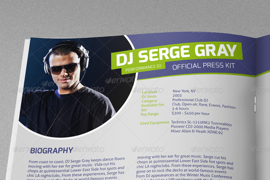 Dj press kit cover letter