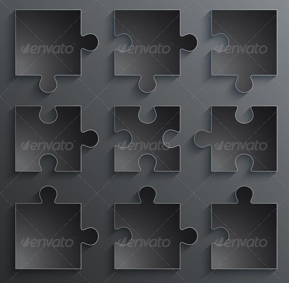 Parts of Paper Puzzles