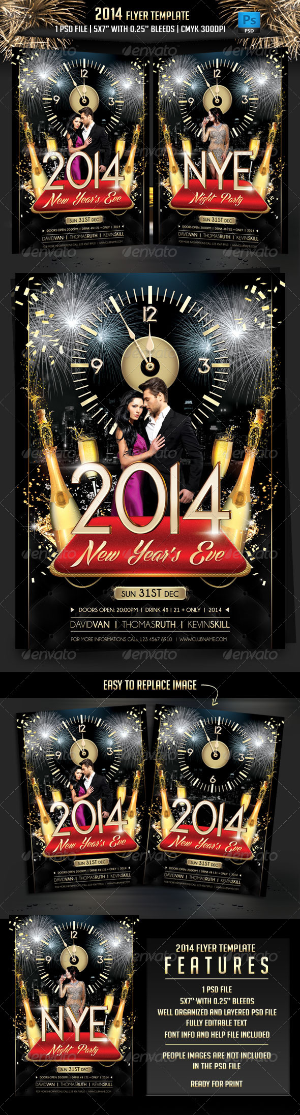 GraphicRiver 2014 Flyer Template 6234522