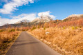 The Road from the Tatra Mountains in the Background - PhotoDune Item for Sale