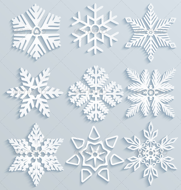GraphicRiver Snow Decorations 6234916