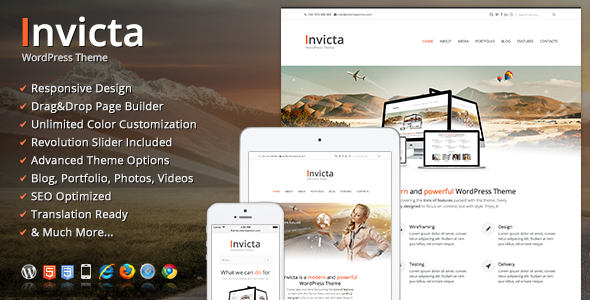 Invicta WordPress Theme - Corporate WordPress