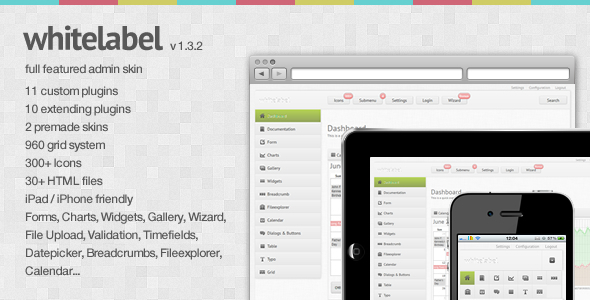 White Label - a full featured Admin Skin - ThemeForest