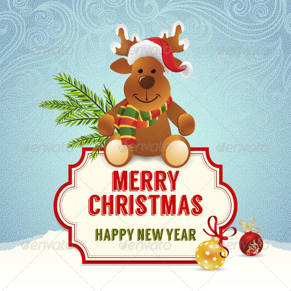 GraphicRiver Christmas Card 6235238