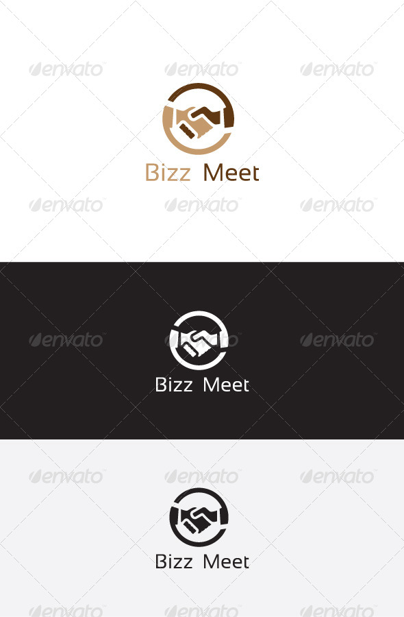 GraphicRiver Business Hands Logo Template 6235435