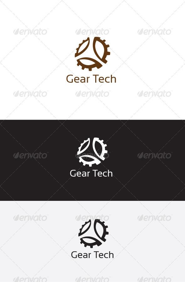 GraphicRiver Gear Tech Logo Template 6235454