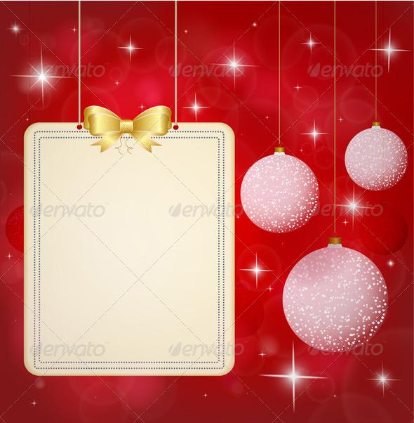 GraphicRiver Christmas Background 6235962