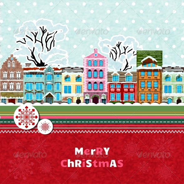 Merry Christmas Invitation Card