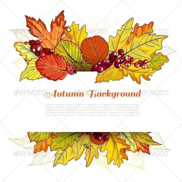 GraphicRiver Autumn Border 6236601
