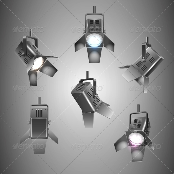 GraphicRiver Stage Lighting 6236605