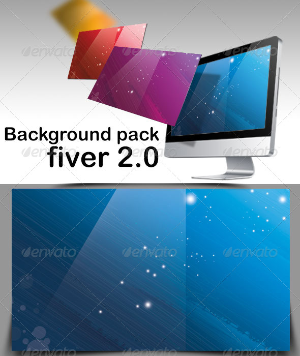 GraphicRiver Background Pack Fiver 2.0 6193057