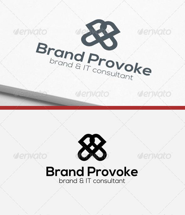 GraphicRiver Brand Provoke Logo 6237393