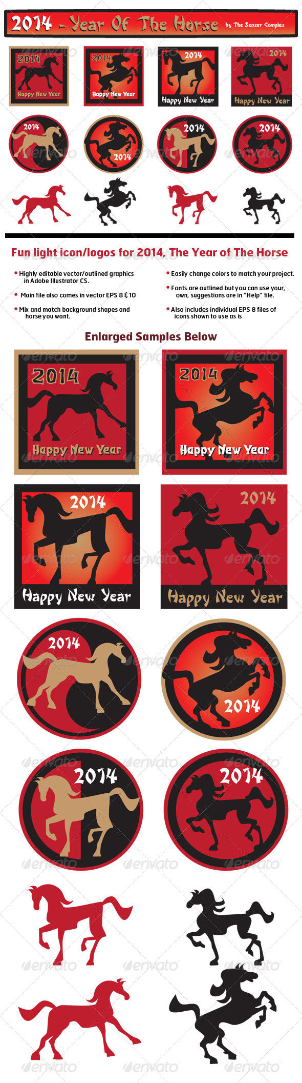 GraphicRiver Year of The Horse 6237410