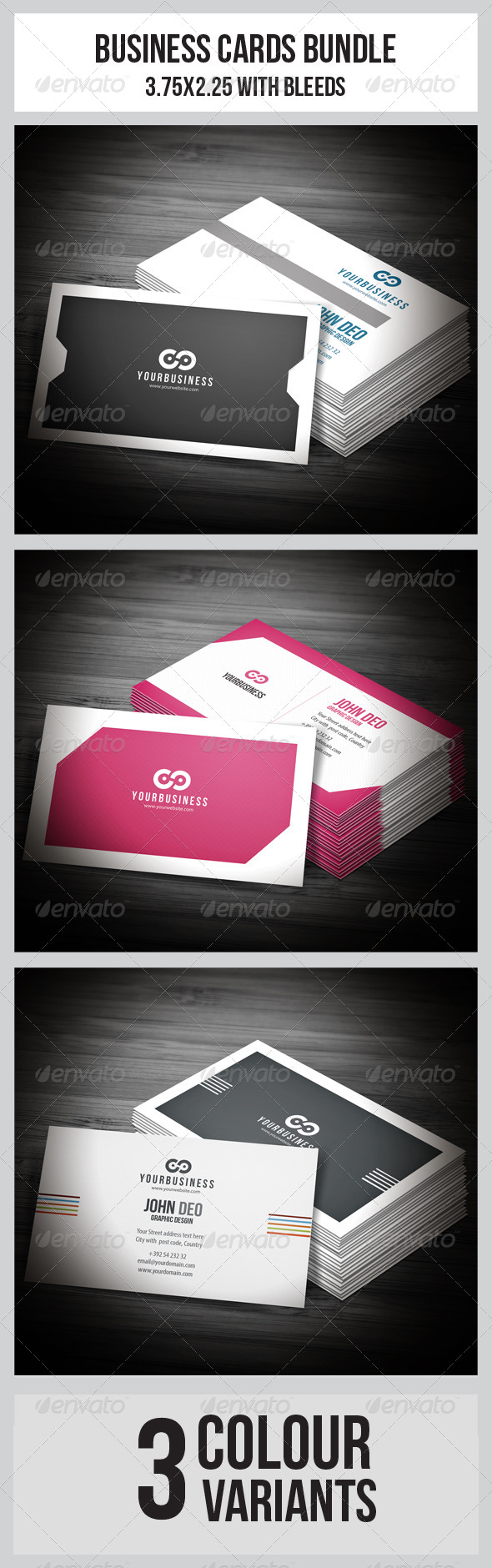 GraphicRiver Business Cards Bundle 6237763