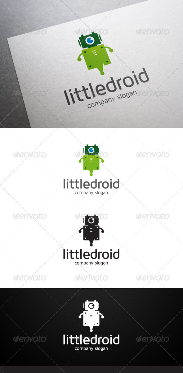 GraphicRiver Little Droid Logo 6238359