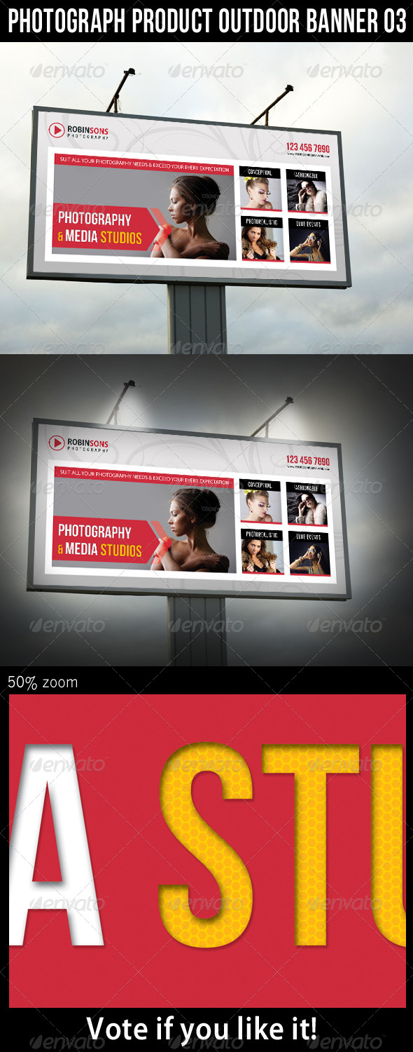 GraphicRiver Photograph Product Outdoor Banner 03 6238403