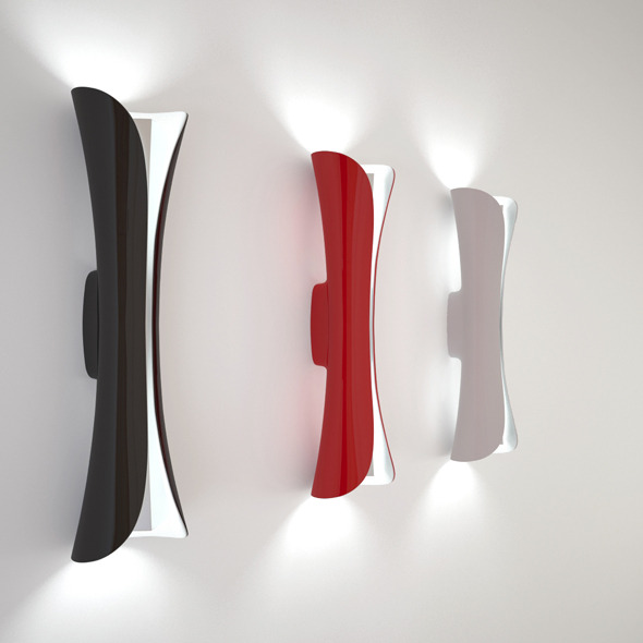 Artemide Cadmo parete - 3DOcean Item for Sale