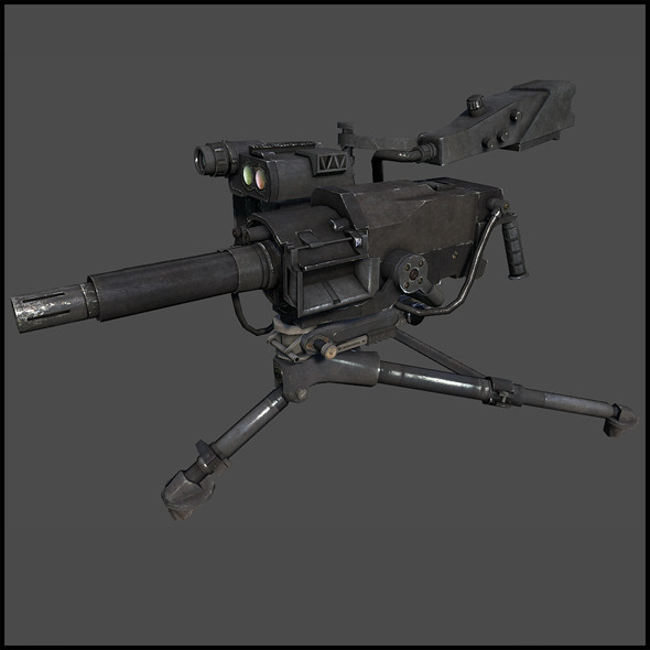 3DOcean Mk 47 Striker 40 mm automatic grenade launcher 6238553