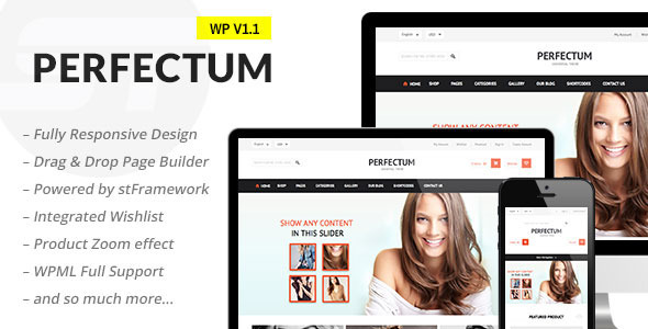 ThemeForest Perfectum Flexible Responsive WooCommerce Theme 6238669