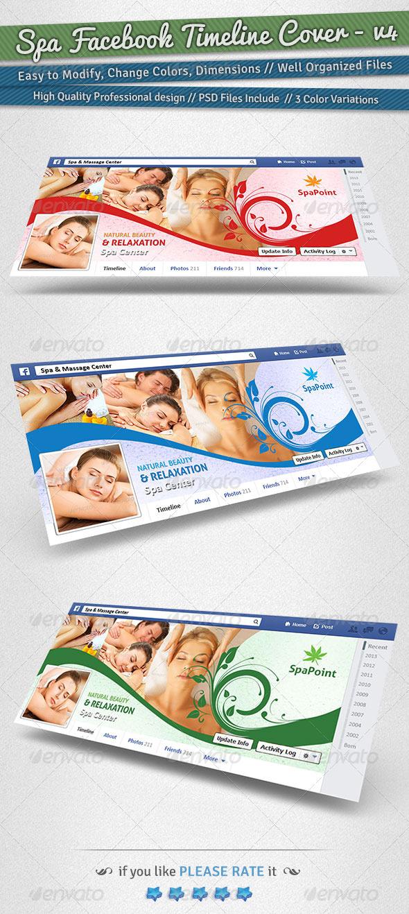 GraphicRiver Spa Facebook Timeline Cover Volume 4 6238677