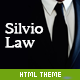 Link toSilvio - html theme for law firms