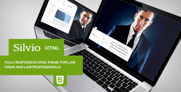 Silvio - HTML Theme for Law Firms