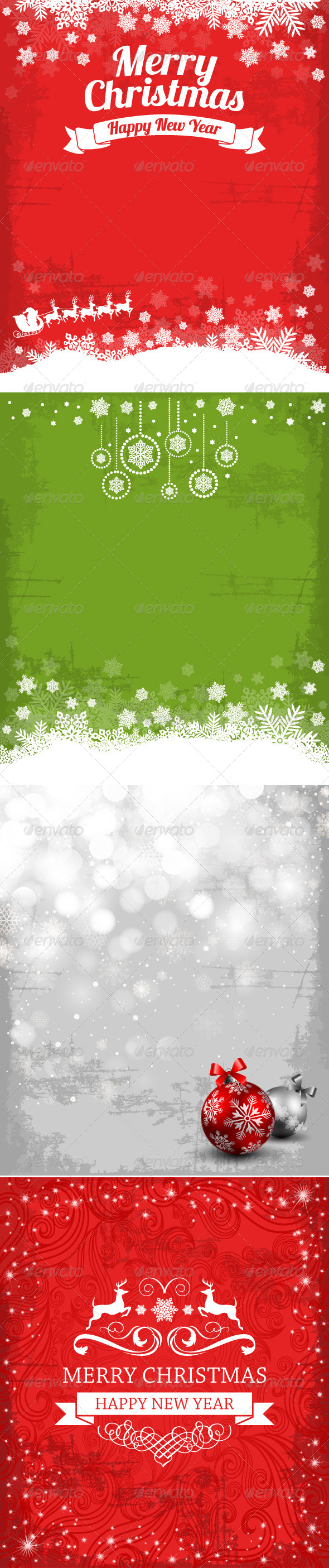 GraphicRiver Christmas and Holiday Backgrounds 6239026