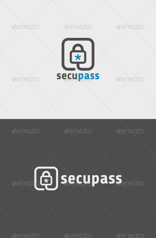 GraphicRiver Secu Pass Logo 6239140