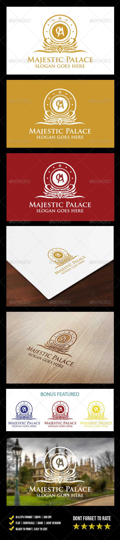 GraphicRiver Majestic Palace logo 6239973