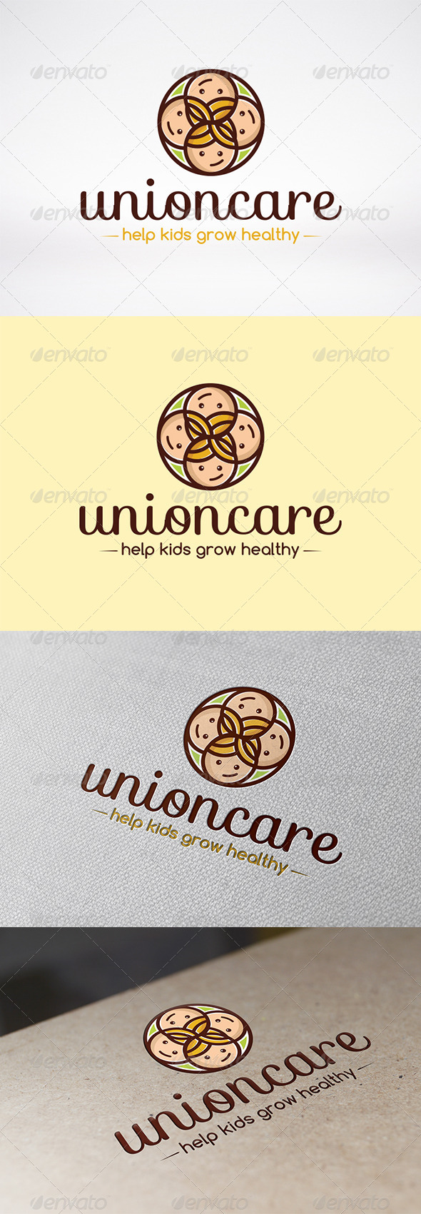 GraphicRiver Unity Care Logo Template 6240047