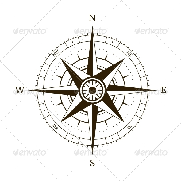GraphicRiver Compass Wind Rose 6240049