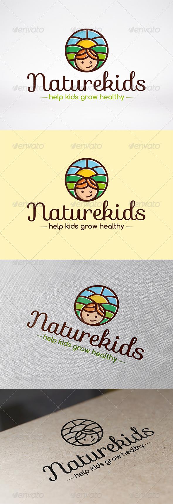 GraphicRiver Kindergarten Logo Template 6240694
