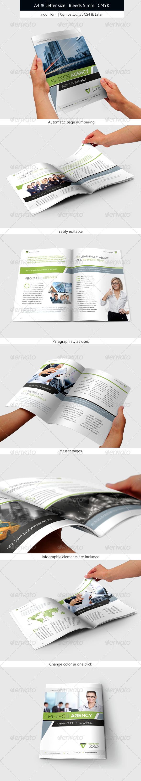 GraphicRiver Corporate & Business Brochure Template Design 6241104