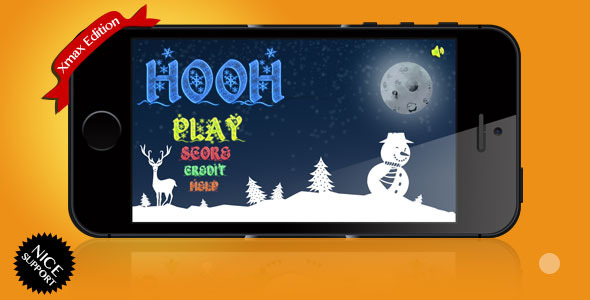 CodeCanyon HooH Xmas Edition UIKit iOS Game 6241406